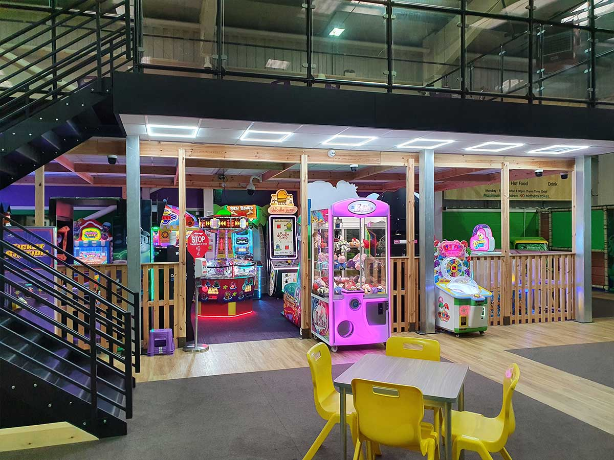 Amusements and arcade ready to use